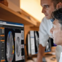 Radiologists Reviewing Patient Images via Philips IntelliSpace Discovery PACS